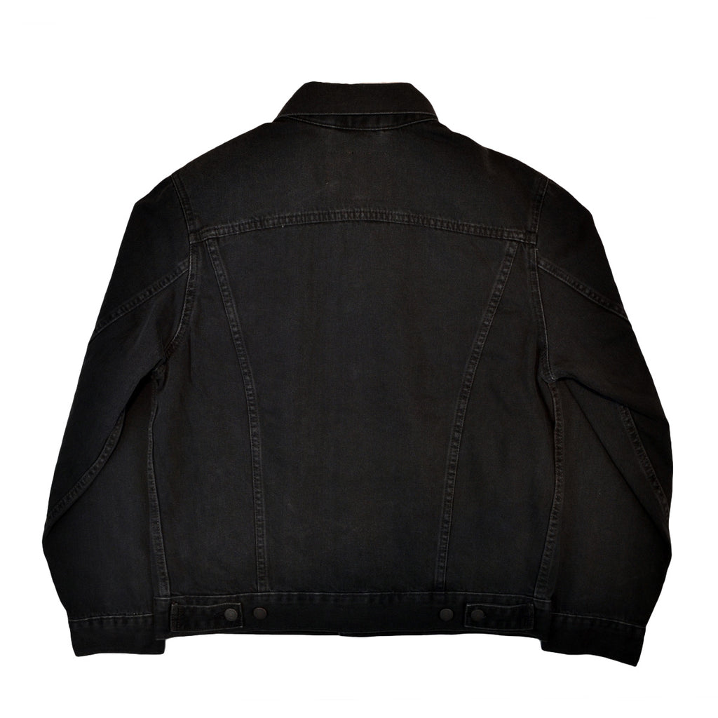 LEVI'S PREMIUM VINTAGE FIT TRUCKER JACKET - BLACK