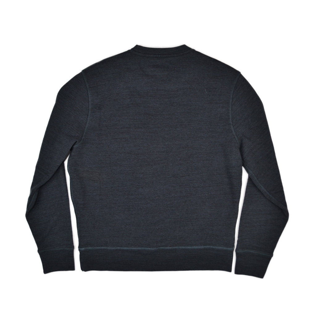 CREW NECK SWEATSHIRT - BLUESHADE HEATHER