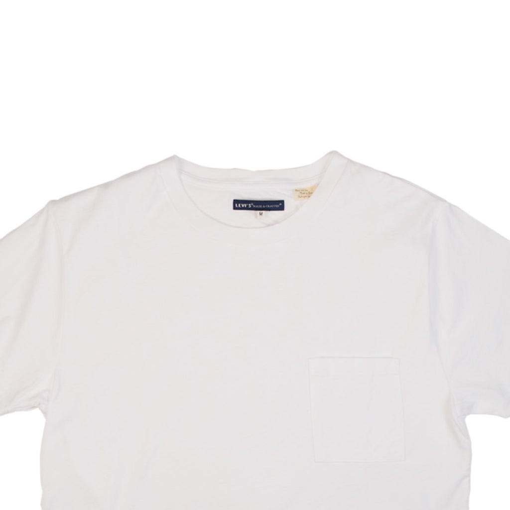 POCKET TEE - BRIGHT WHITE