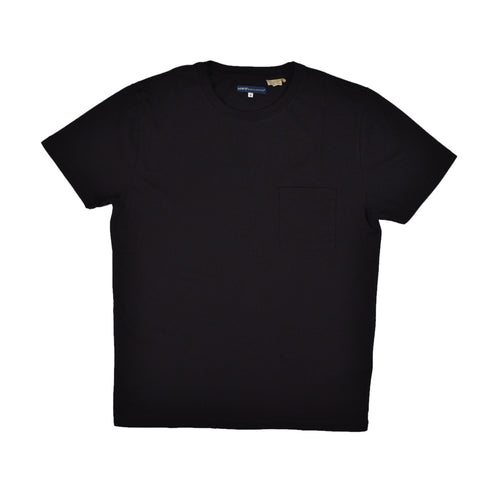POCKET TEE - CAVIAR BLACK