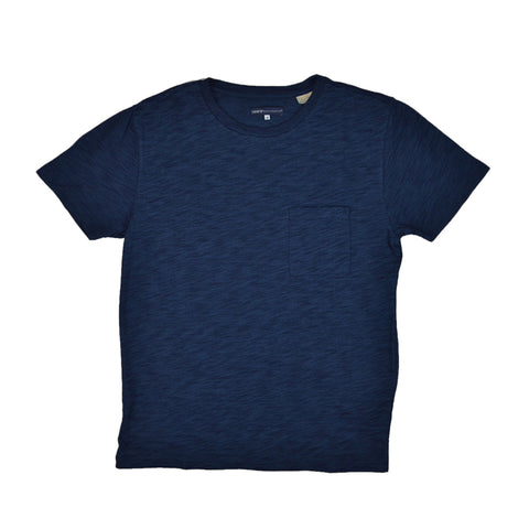 POCKET TEE - WASHED BLUE INDIGO