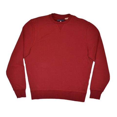 CREW NECK SWEATSHIRT - POMEGRANATE