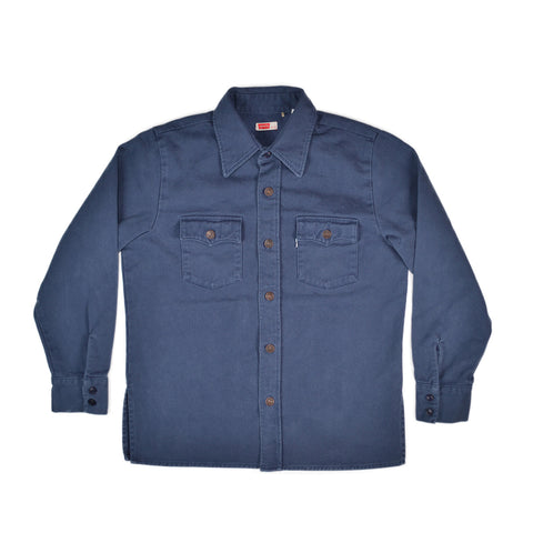 SHIRT JACKET - DARK BLUE
