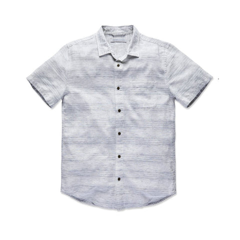 OUTERKNOWN S.E.A. S/S SHIRT - MARINE MIRAGE STRIPE