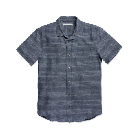 OUTERKNOWN S.E.A. S/S SHIRT - NIGHT MIRAGE STRIPE