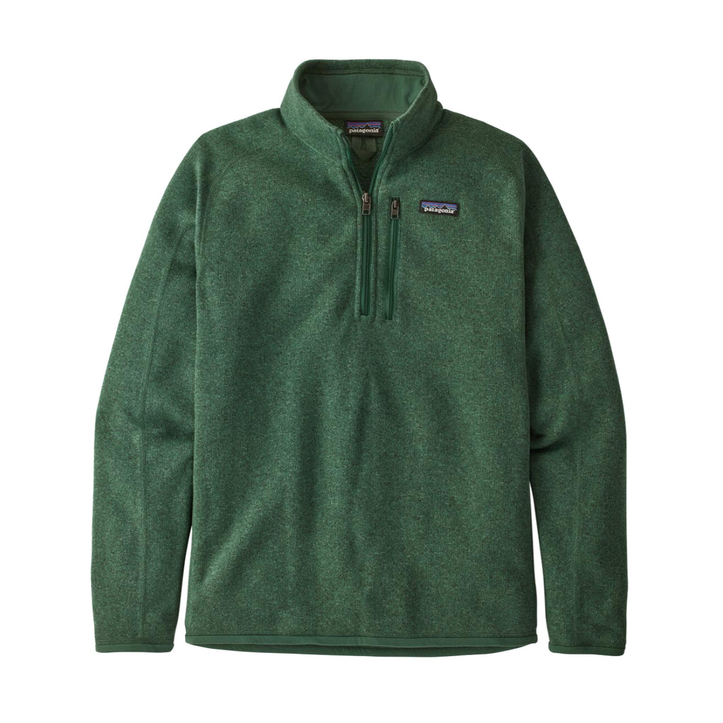 PATAGONIA BETTER SWEATER 1/4 - OAK GREEN