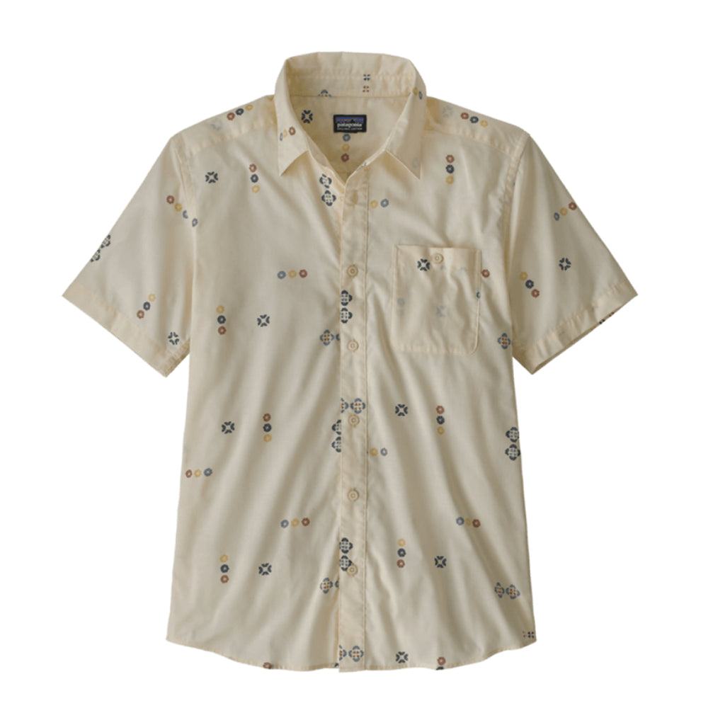 PATAGONIA GO TO SHIRT - WHITE WASH