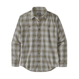L/S ORGANIC COTTON PIMA SHIRT - BREW, TUBER TAN