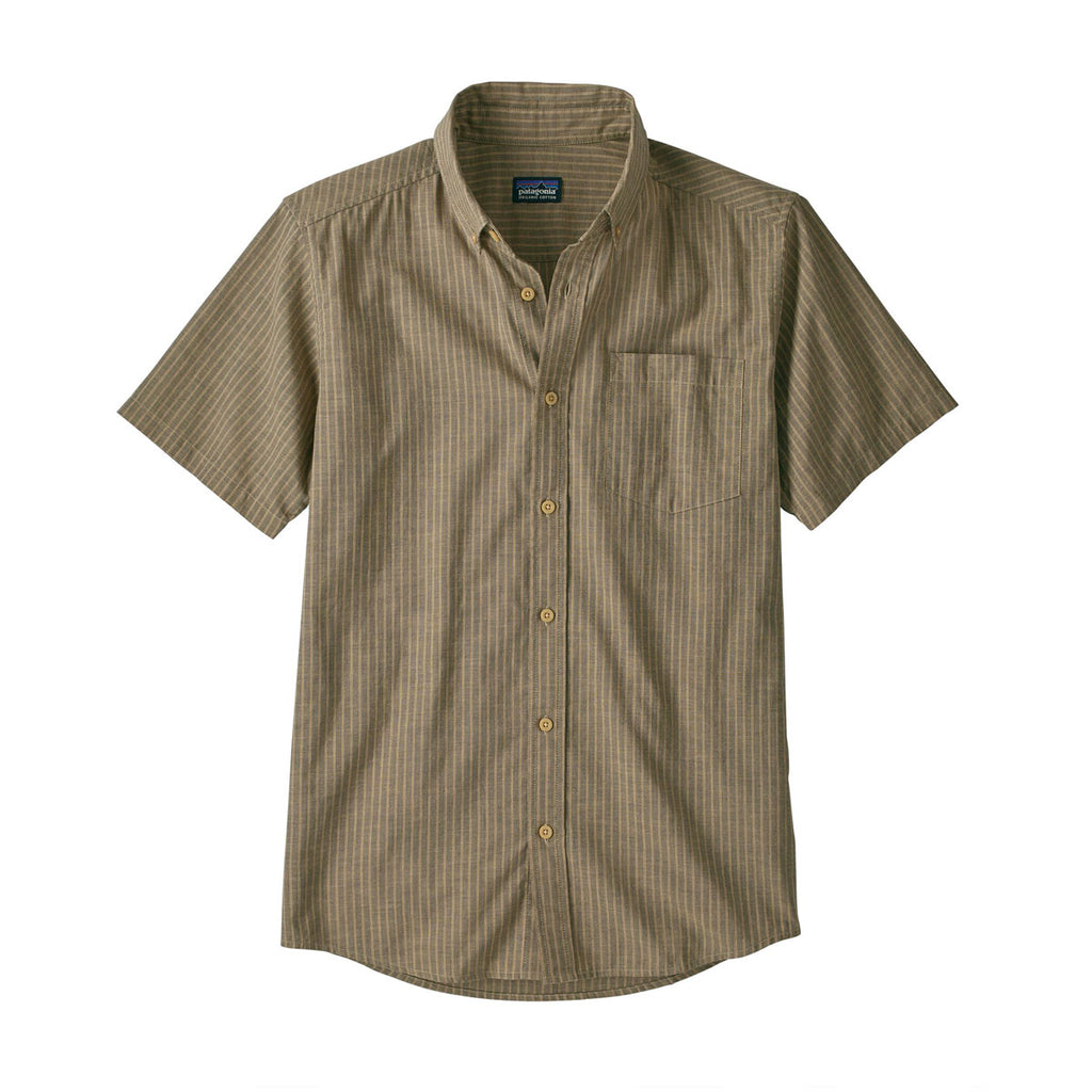LIGHTWEIGHT BLUFFSIDE SHIRT - RAIL STRIPE, PRONGHORN TAN