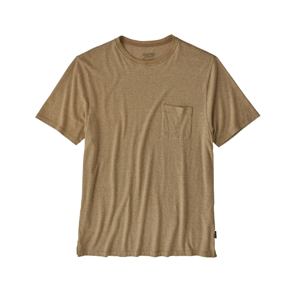 TRAIL HARBOR POCKET TEE - LONG PLAINS, MOJAVE