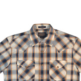 PENDLETON S/S FRONTIER SHIRT - NAVY PLAID