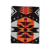 EAGLE ROCK SPA TOWEL - BLACK MULTI