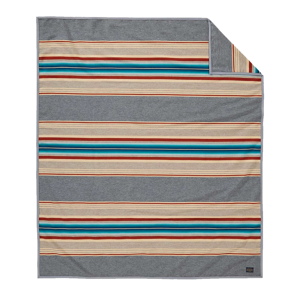 SERAPE ROBE - GREY
