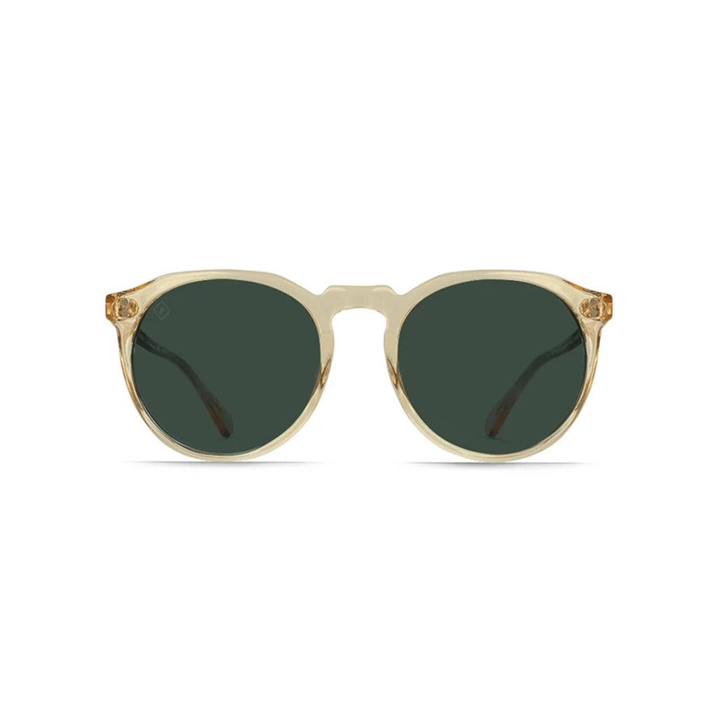Remmy Sunglasses - Champagne Crystal / Green Polarized