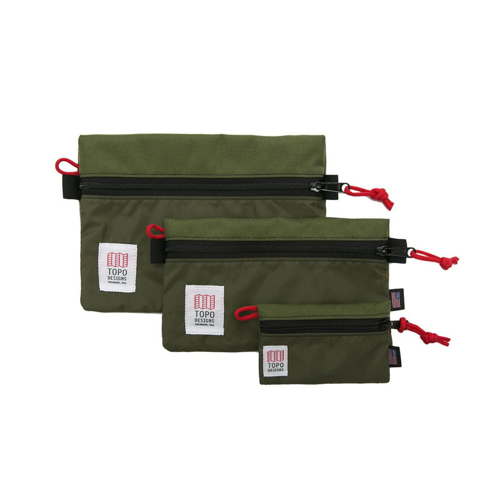 TOPO DESIGNS ACCESSORY BAG - OLIVE