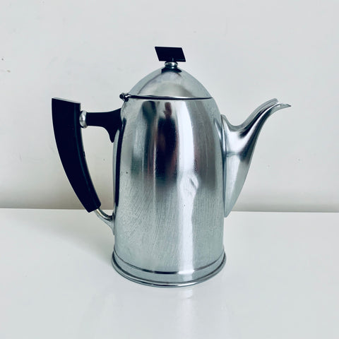 "Aluminium Art Deco ""Demeyere"" Coffee pot"