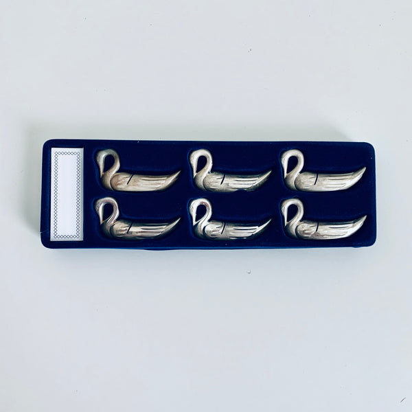 Metal place card holders (6)