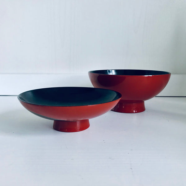 Chinese wooden lacquer bowl