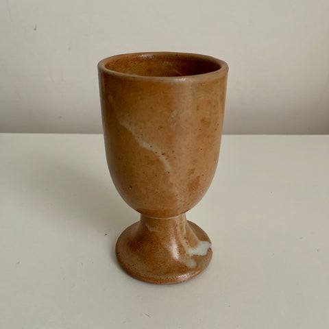 Glazed earthenware cup (small)