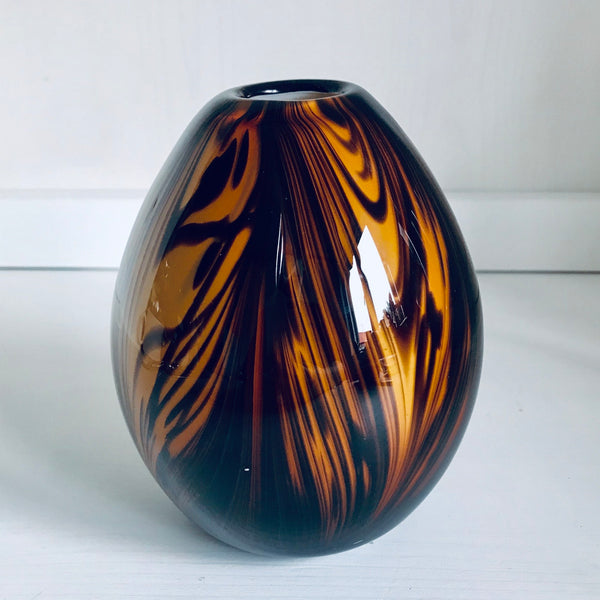 Hand made glass vase