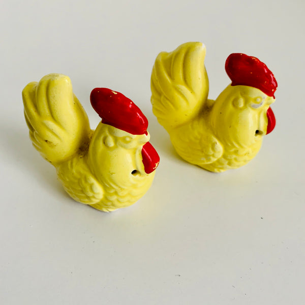 Rooster pepper & salt shakers