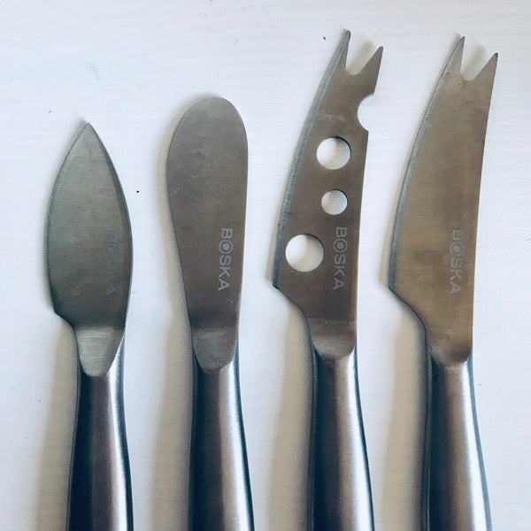 Set of 4 Boska cheese knives