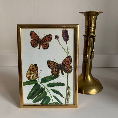 Brass photo frame (for pictures of 10x15 cm)