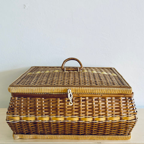 Sewing or storage basket