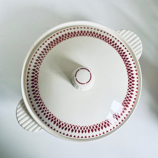 French earthenware serving dish
