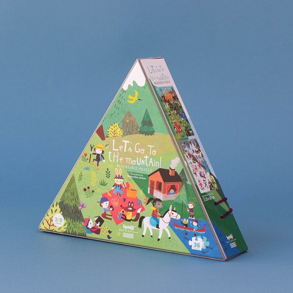 Let's Go to The Mountain Puzzle (Reversible puzzle)