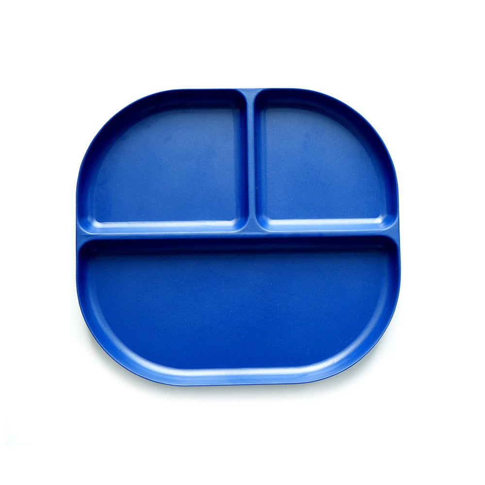 Bambino Divided Tray - Royal Blue by Ekobo