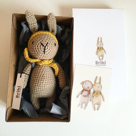 Crochet Rabbit by Briki Vroom Vroom
