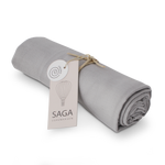 Organic Swaddle in Silver Grey by SAGA Copenhagen