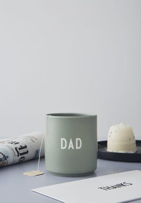 DAD Cup in Light Green by Design Letters