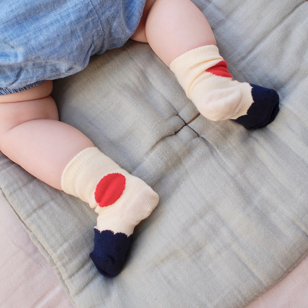 N.6 Organic Cotton Baby Sock by TchuTcha