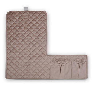 Organic Changing Quilt Pad | Mauve