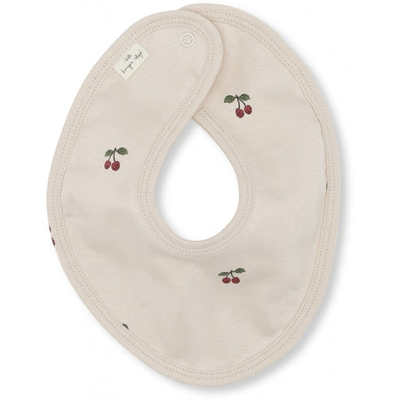 Organic Cotton Super Soft Bib in Cherry Blush by Konges Slojd
