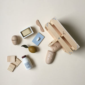 Wooden Food Box Toys