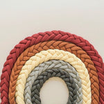 100% Organic Cotton Braided Pacifier Clip By Oh Dubidu