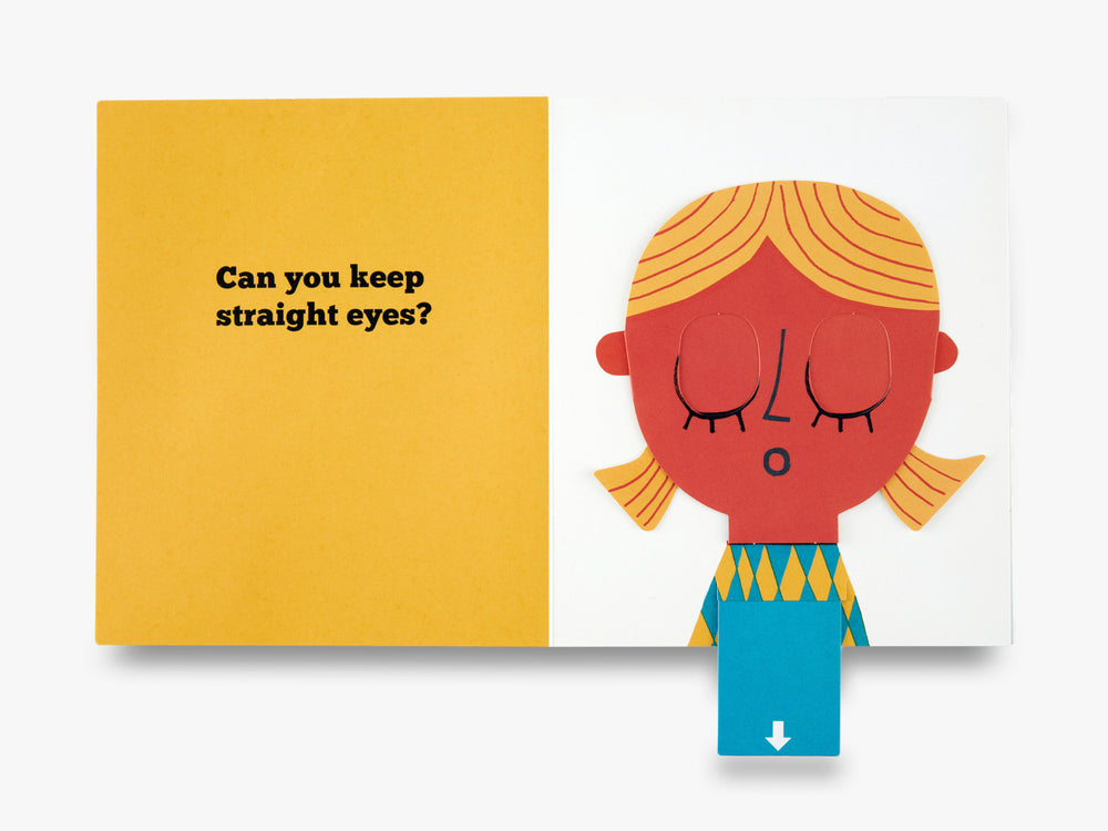 Can You Keep a Straight Face? (A Flip Flap Pop Up Book)