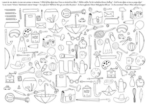 40 Placemats to Colour In