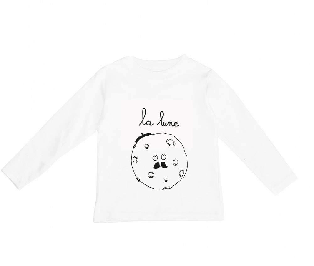 La Lune Long Sleeve Tee by Wexbaby