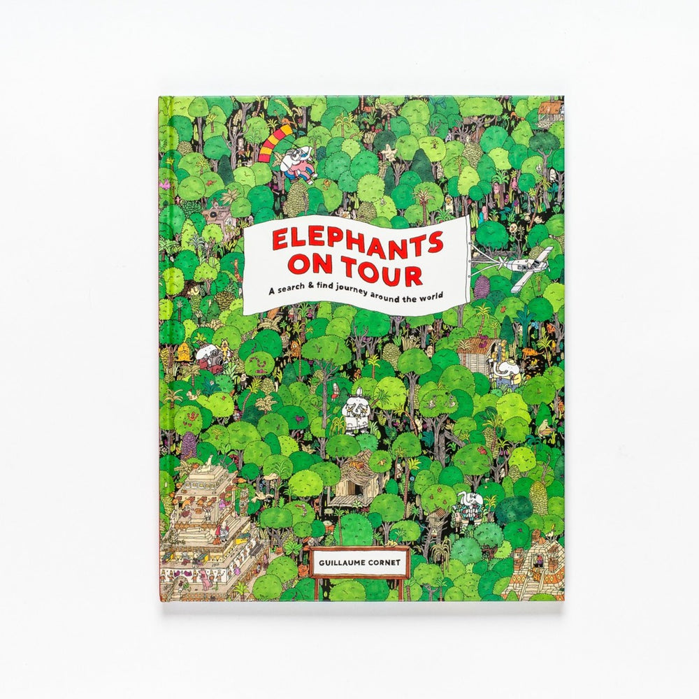 Elephants on Tour Activity Book