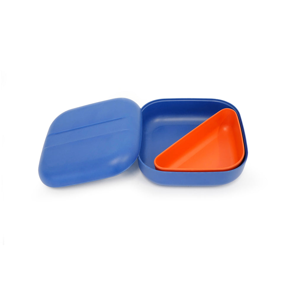 Bamboo Square Bento Lunch Box | Royal Blue