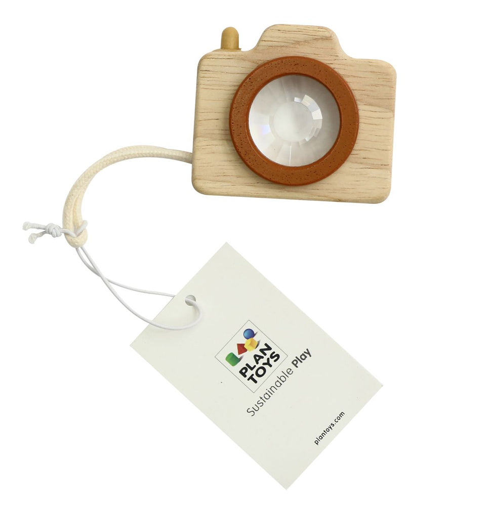 Wooden Mini Camera Toy by Plan Toys