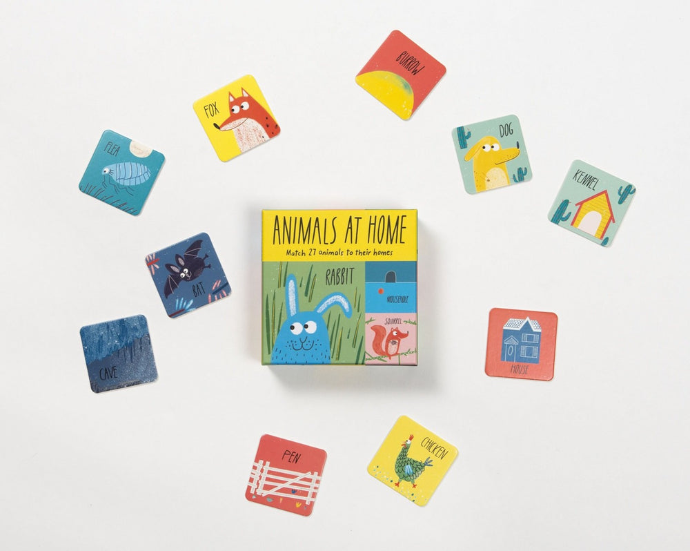 Animals at Home Matching Game by Laurence King
