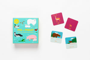 Pig and Piglet Matching Game by Laurence King