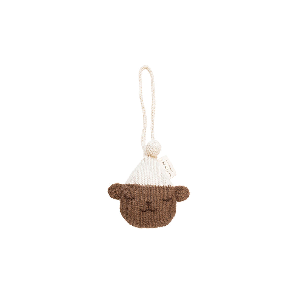 Teddy Hanging Rattle by Main Sauvage