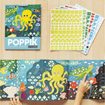 Activity Sticker Set - Aquarium with 750 Repositionable Stickers by Poppik