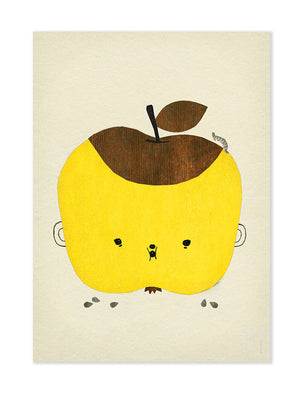 Apple Papple Poster by Fine Little Day